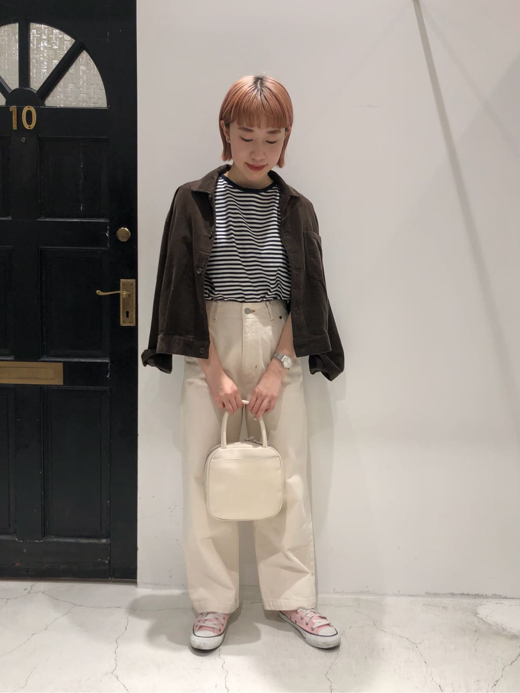 Dot and Stripes CHILD WOMAN ルクアイーレ 身長:157cm 2021.08.31