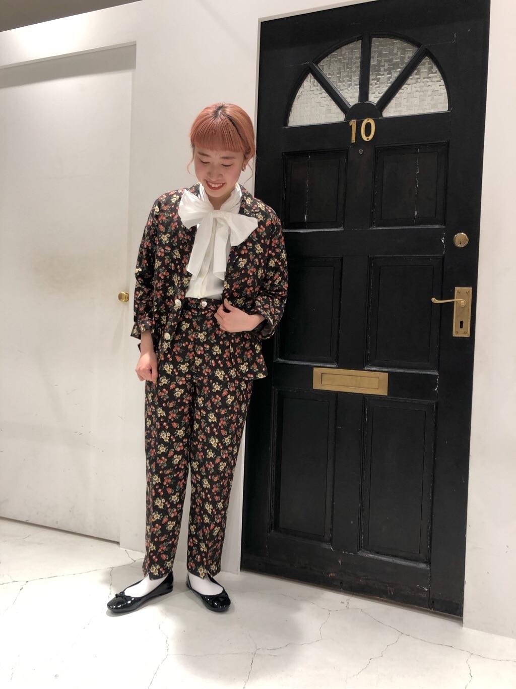 Dot and Stripes CHILD WOMAN ルクアイーレ 身長:157cm 2020.04.17