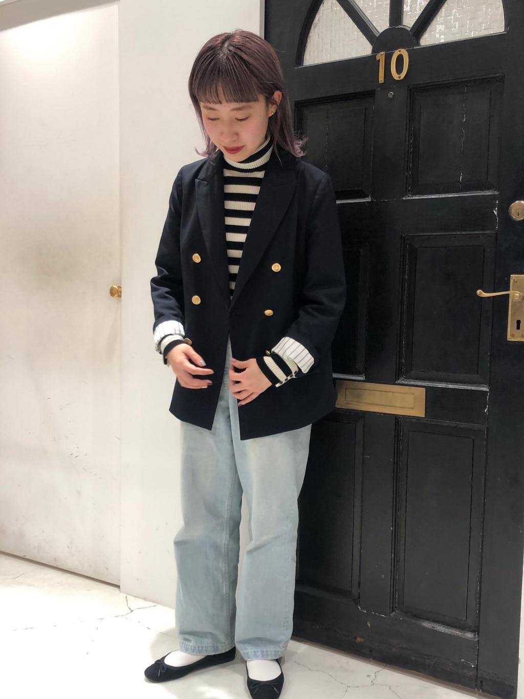 Dot and Stripes CHILD WOMAN ルクアイーレ 身長:157cm 2020.11.25