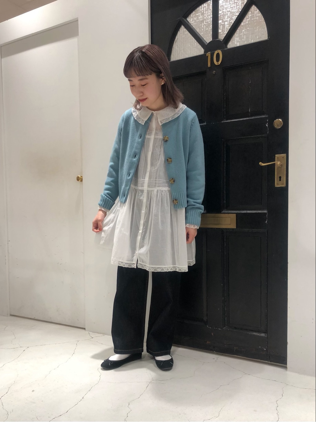 Dot and Stripes CHILD WOMAN ルクアイーレ 身長:157cm 2020.12.24