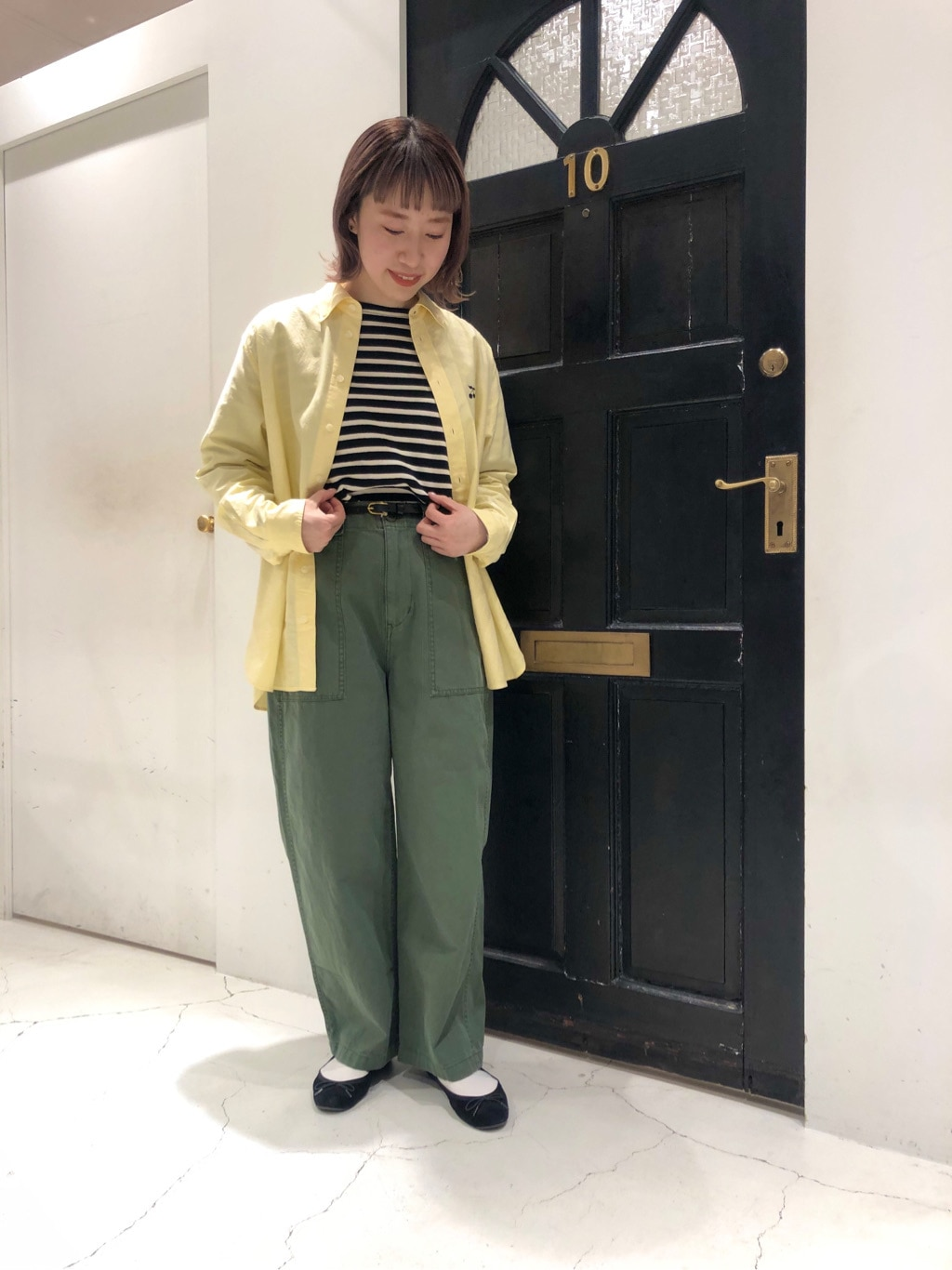 Dot and Stripes CHILD WOMAN ルクアイーレ 身長:157cm 2021.02.04