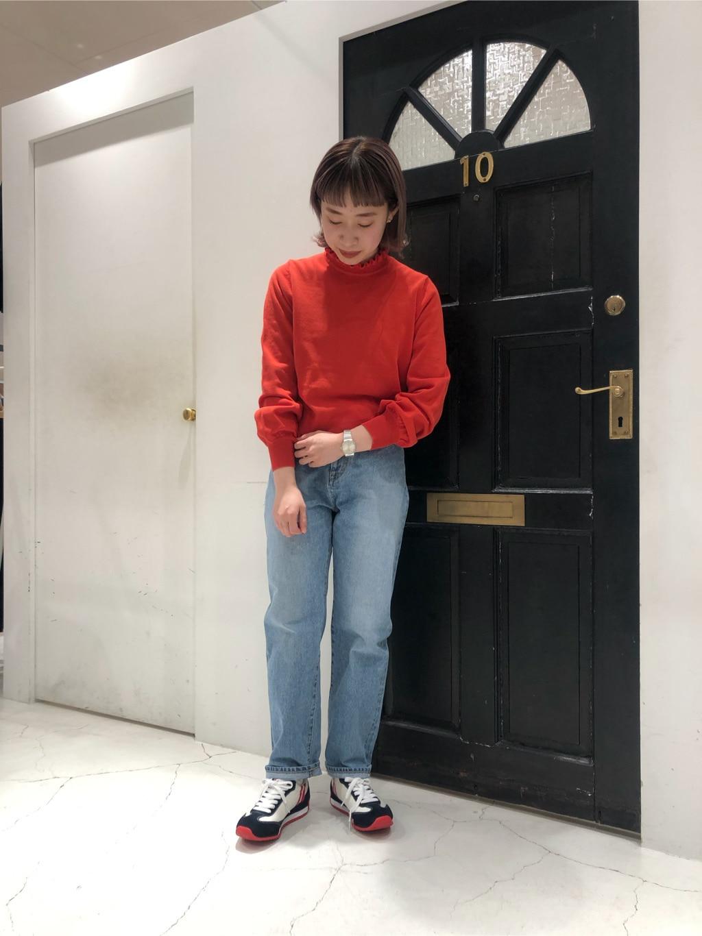 Dot and Stripes CHILD WOMAN ルクアイーレ 身長:157cm 2021.01.22