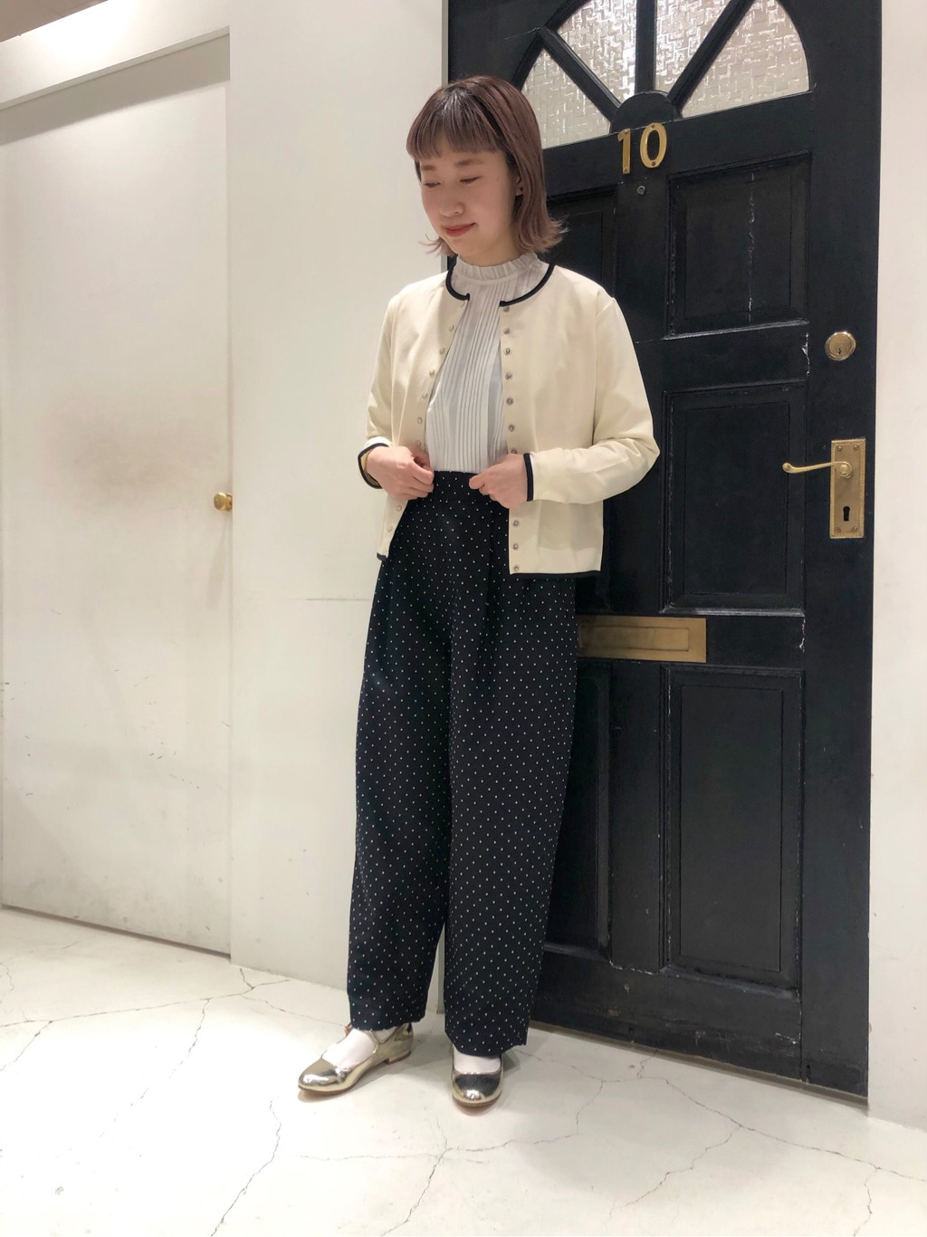 Dot and Stripes CHILD WOMAN ルクアイーレ 身長:157cm 2021.02.05