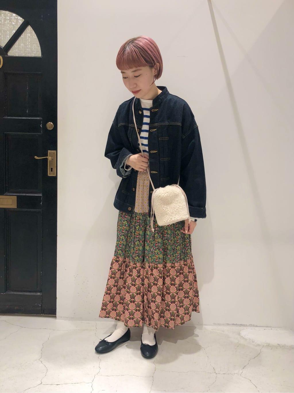 Dot and Stripes CHILD WOMAN ルクアイーレ 身長:157cm 2021.09.16