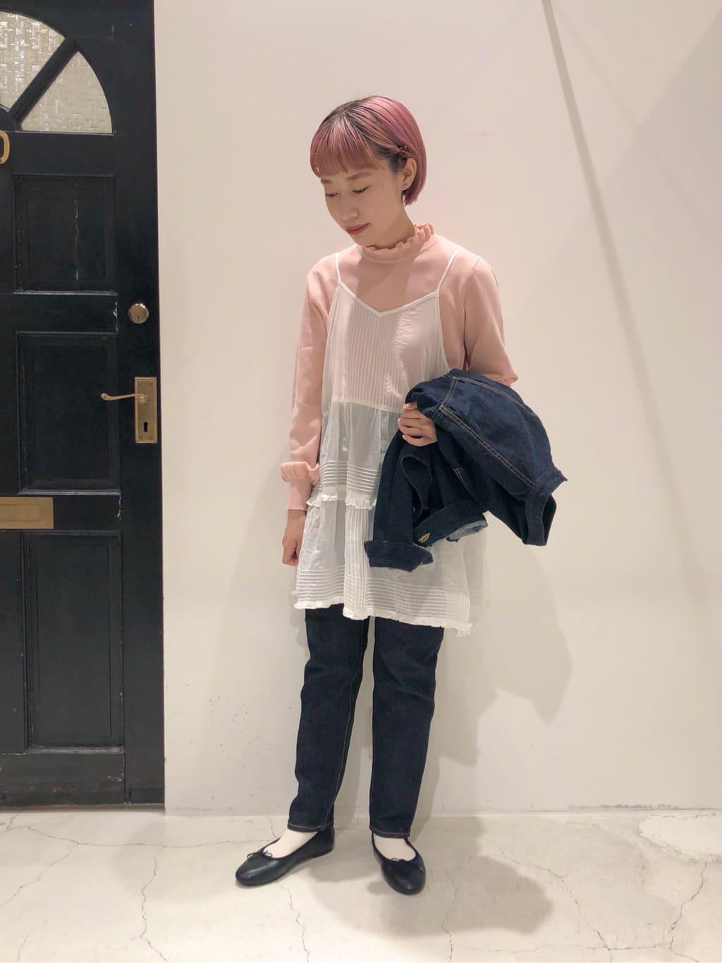 Dot and Stripes CHILD WOMAN ルクアイーレ 身長:157cm 2021.09.26