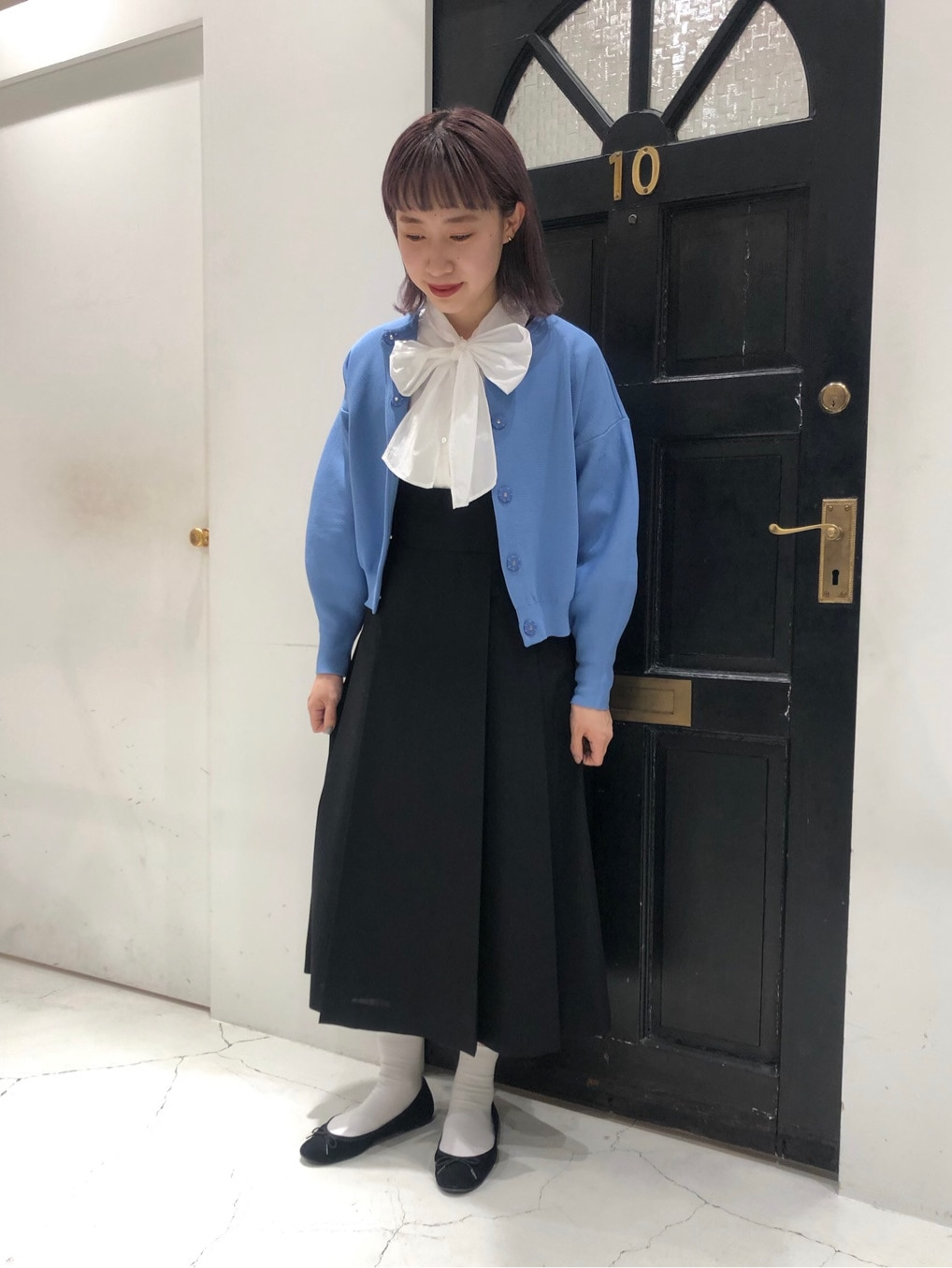 Dot and Stripes CHILD WOMAN ルクアイーレ 身長:157cm 2020.11.26