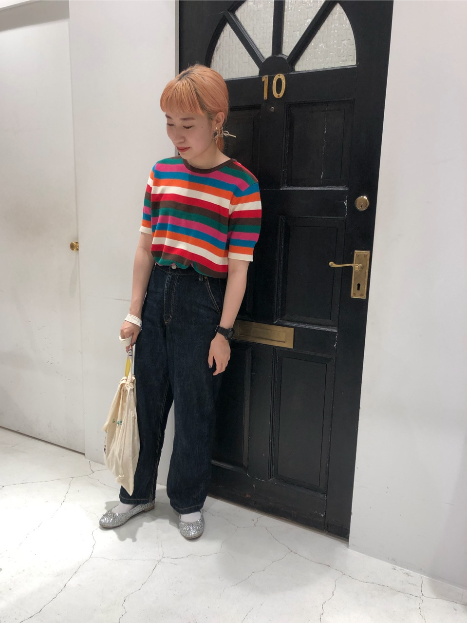 Dot and Stripes CHILD WOMAN ルクアイーレ 身長:157cm 2020.06.25