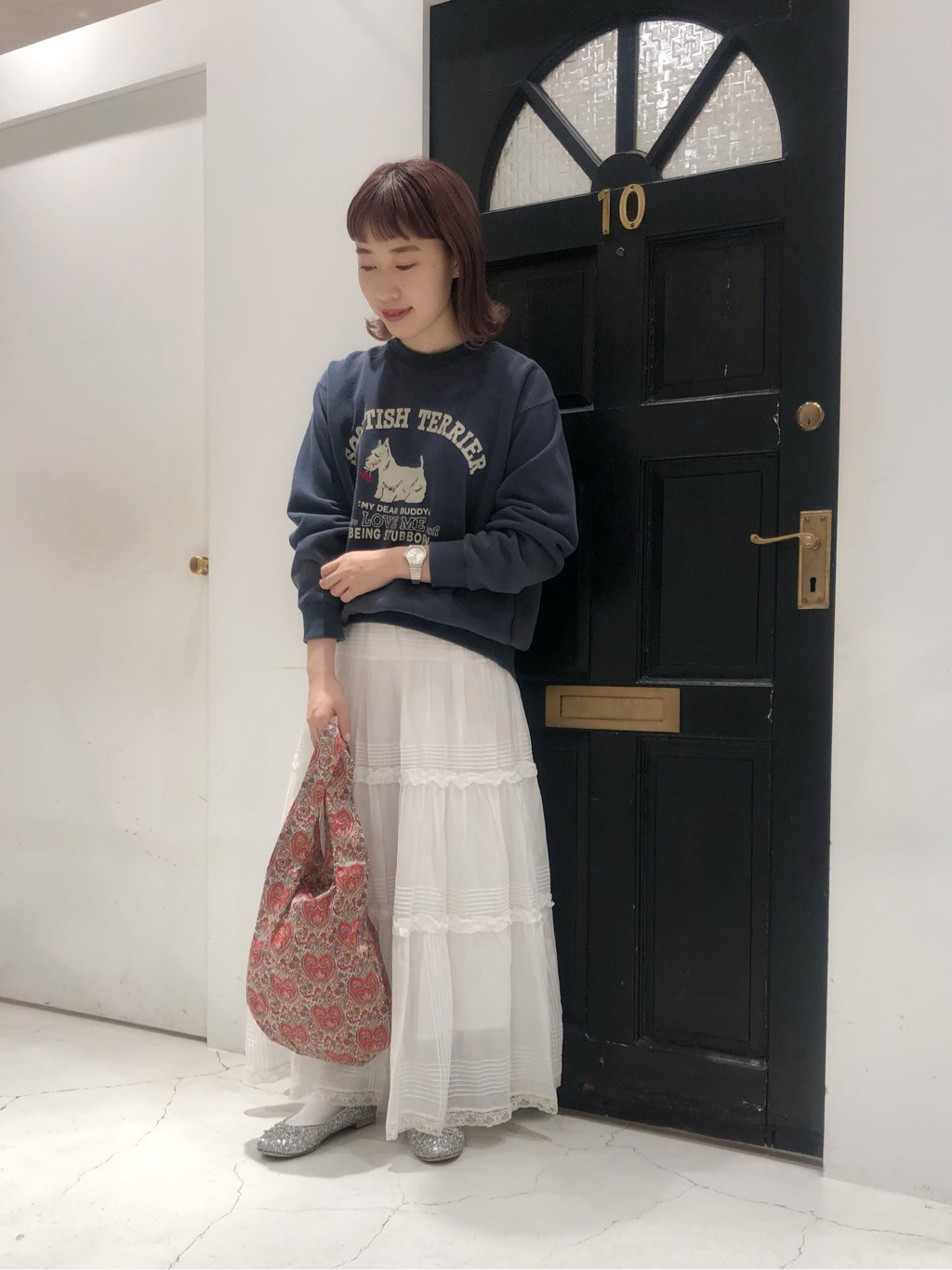 Dot and Stripes CHILD WOMAN ルクアイーレ 身長:157cm 2020.09.10