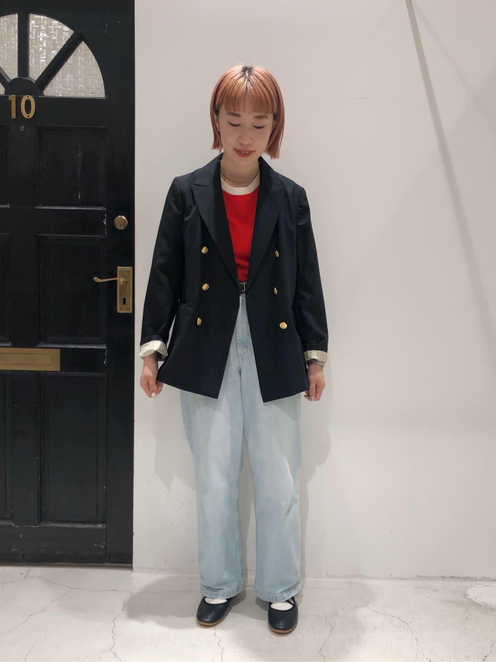 Dot and Stripes CHILD WOMAN ルクアイーレ 身長:157cm 2021.09.01