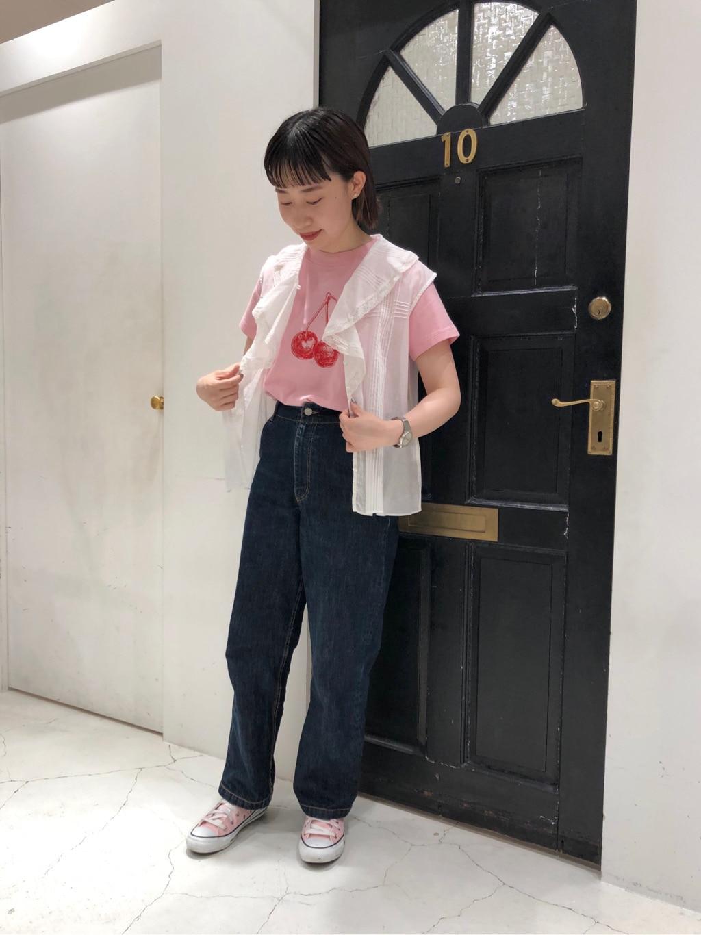 Dot and Stripes CHILD WOMAN ルクアイーレ 身長:157cm 2021.06.06