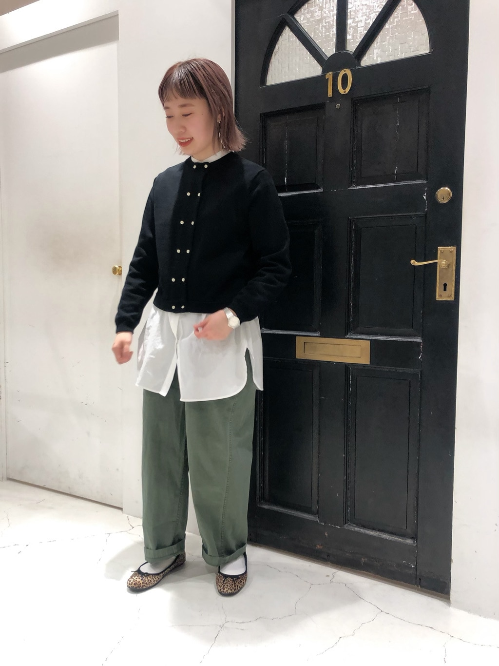 Dot and Stripes CHILD WOMAN ルクアイーレ 身長:157cm 2021.01.26