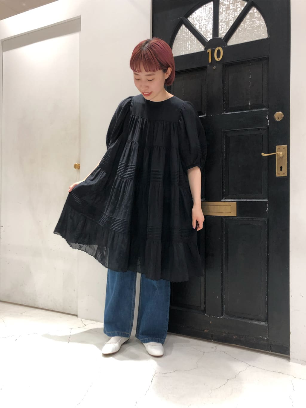 Dot and Stripes CHILD WOMAN ルクアイーレ 身長:157cm 2021.07.09