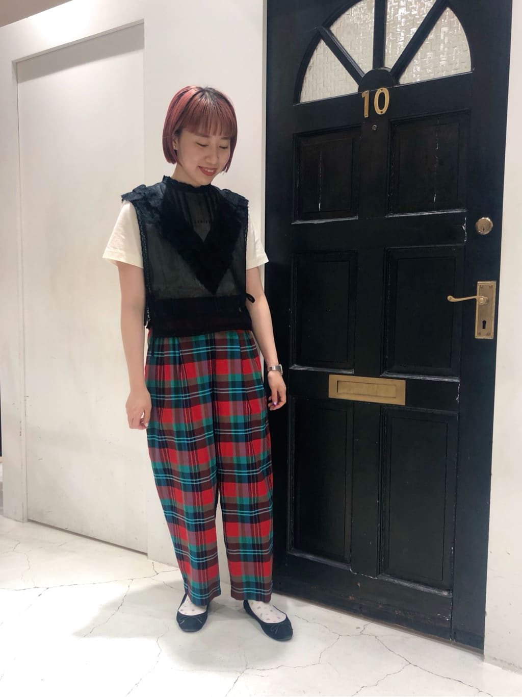 Dot and Stripes CHILD WOMAN ルクアイーレ 身長:157cm 2021.07.28