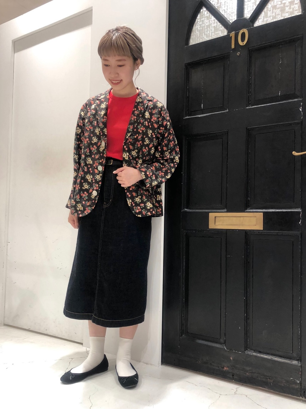 Dot and Stripes CHILD WOMAN ルクアイーレ 身長:157cm 2020.08.01