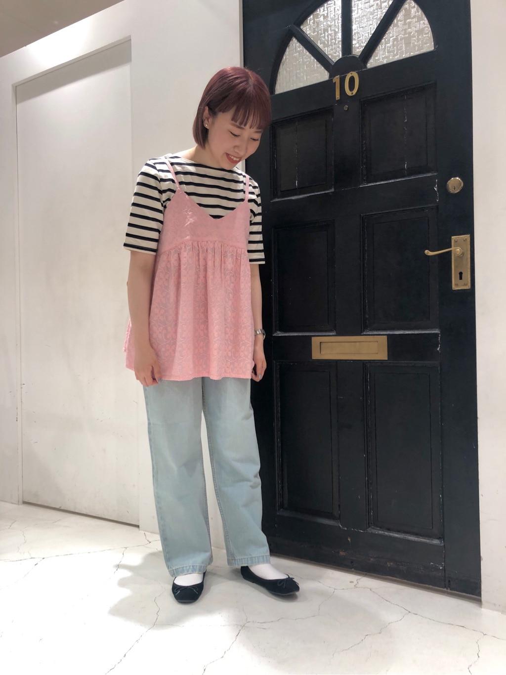 Dot and Stripes CHILD WOMAN ルクアイーレ 身長:157cm 2021.06.10