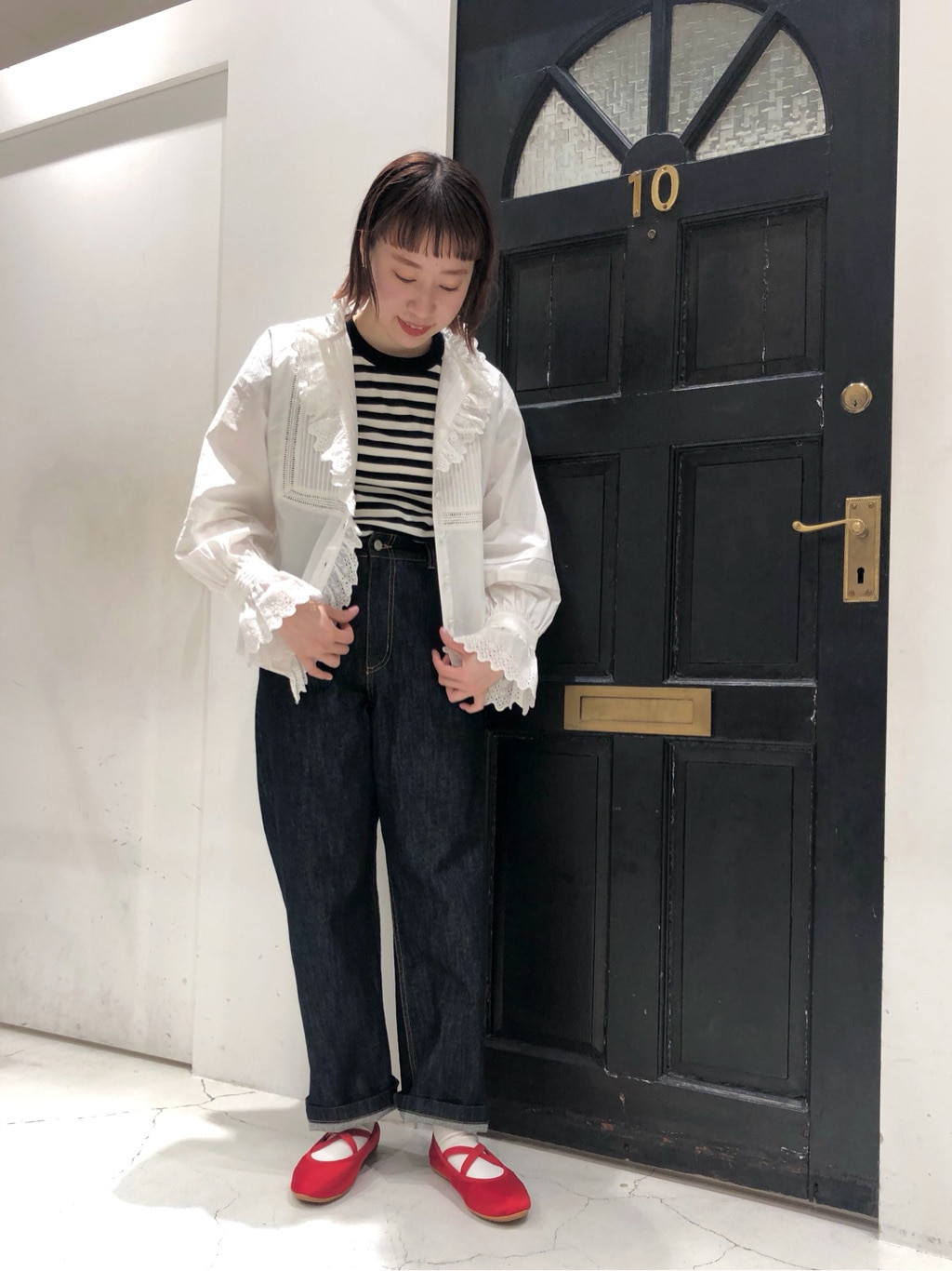 Dot and Stripes CHILD WOMAN ルクアイーレ 身長:157cm 2021.04.29