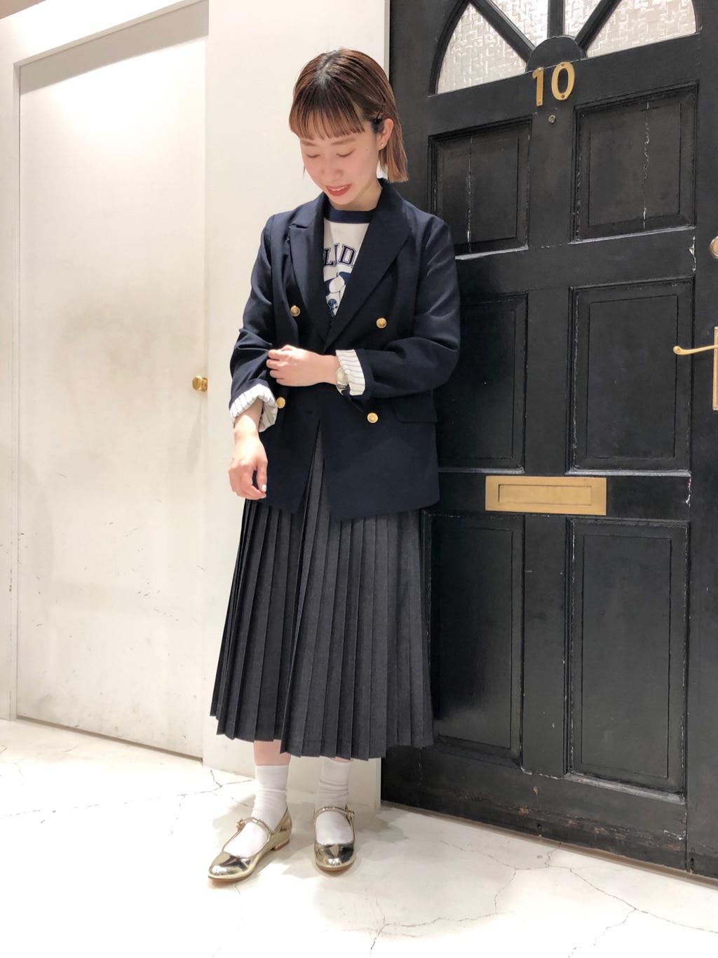 Dot and Stripes CHILD WOMAN ルクアイーレ 身長:157cm 2021.04.07