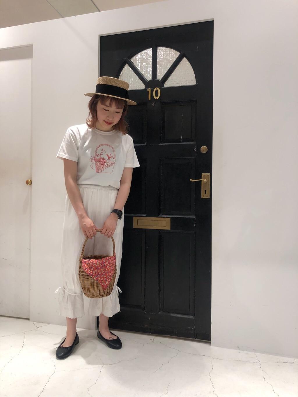 Dot and Stripes CHILD WOMAN ルクアイーレ 身長:157cm 2020.06.06