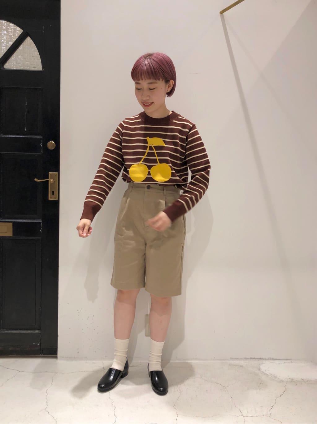 Dot and Stripes CHILD WOMAN ルクアイーレ 身長:157cm 2021.09.02