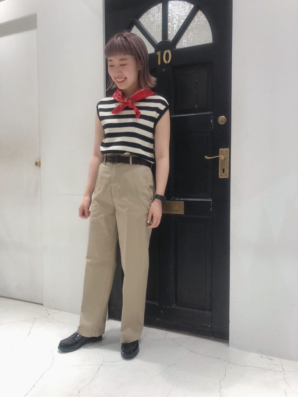 Dot and Stripes CHILD WOMAN ルクアイーレ 身長:157cm 2020.07.22