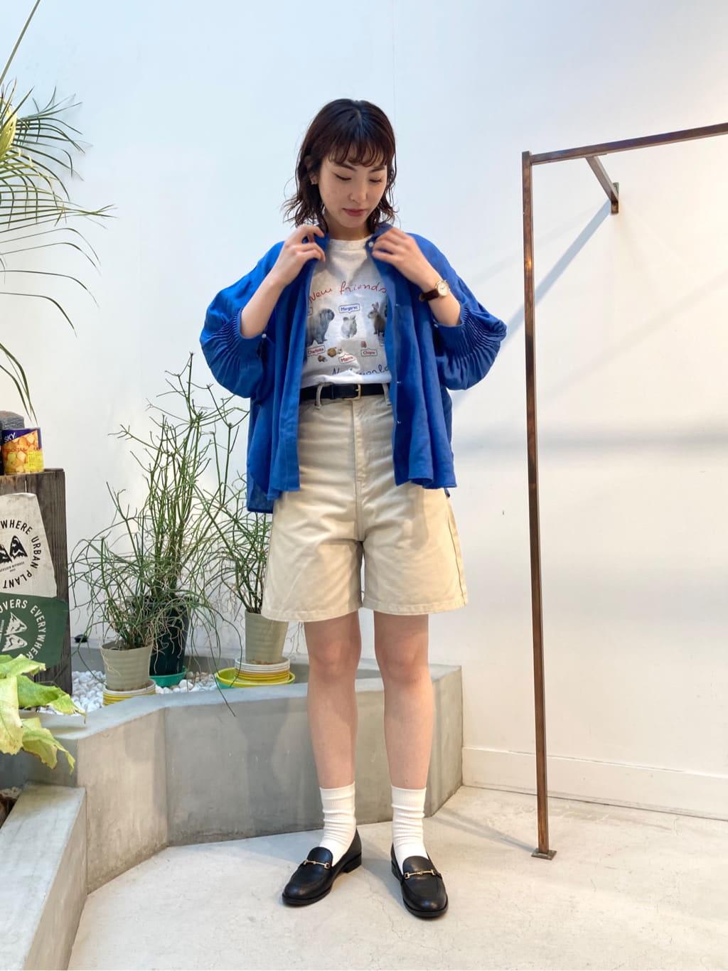 l'atelier du savon 名古屋栄路面 身長:161cm 2021.07.16