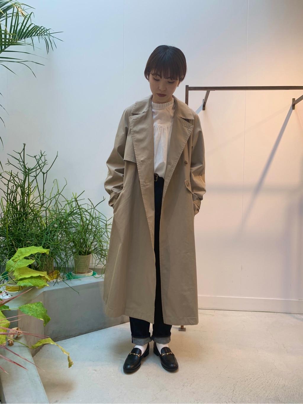 l'atelier du savon 名古屋栄路面 身長:161cm 2020.04.28