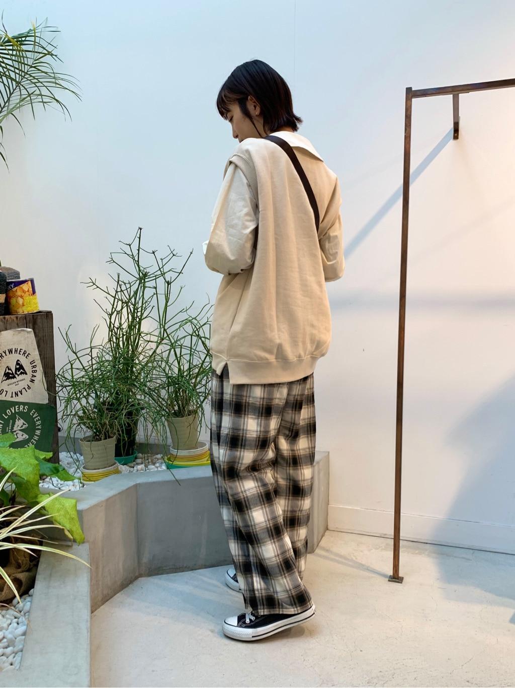 l'atelier du savon 名古屋栄路面 身長:161cm 2020.12.24