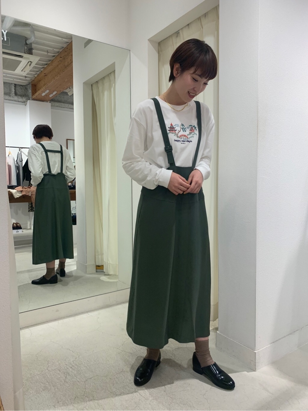 l'atelier du savon 名古屋栄路面 身長:161cm 2020.02.04