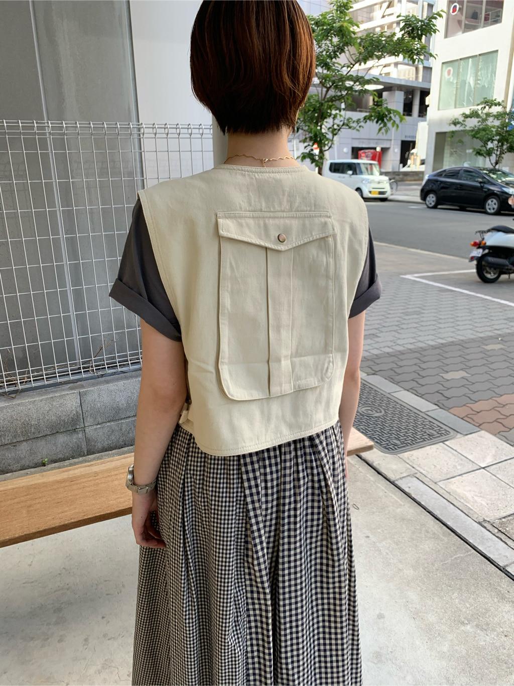l'atelier du savon 名古屋栄路面 身長:161cm 2020.06.07
