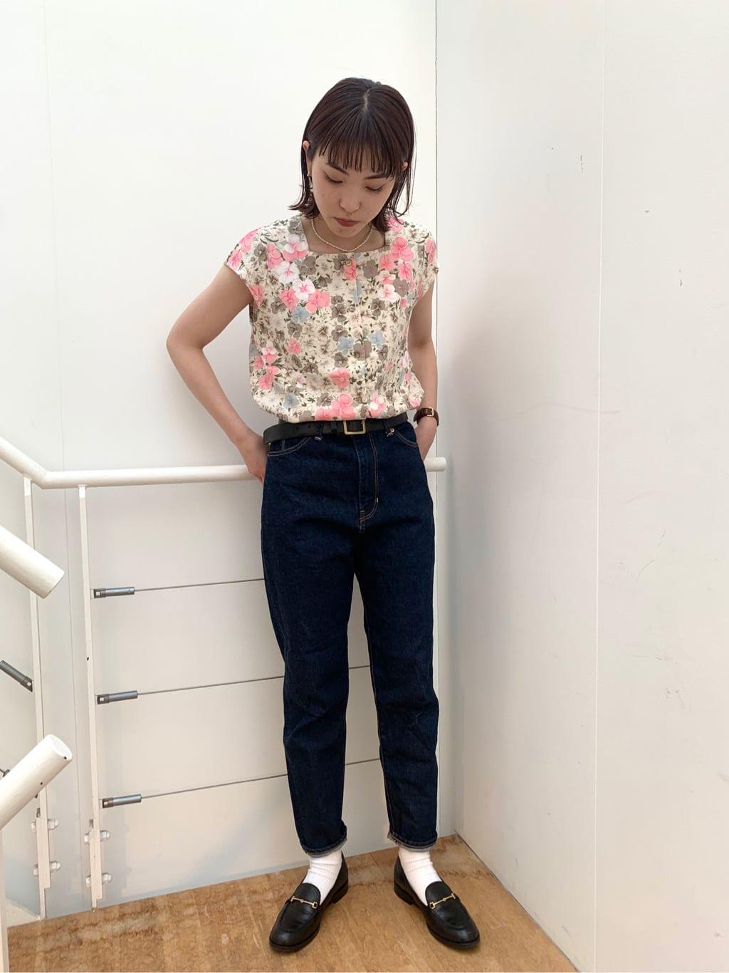 l'atelier du savon 名古屋栄路面 身長:161cm 2021.06.28