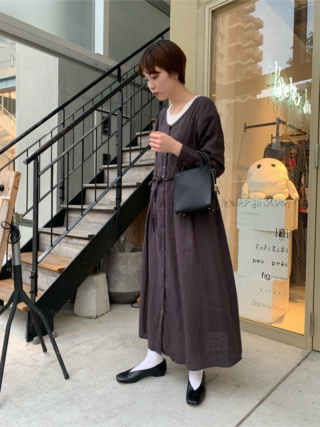 l'atelier du savon 名古屋栄路面 身長:161cm 2020.04.14