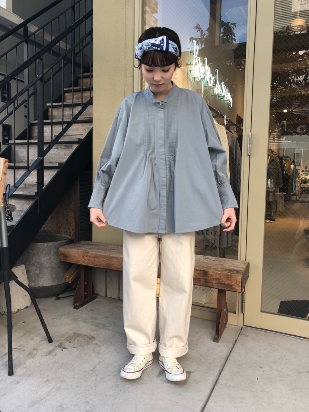l'atelier du savon 名古屋栄路面 身長:161cm 2020.01.09