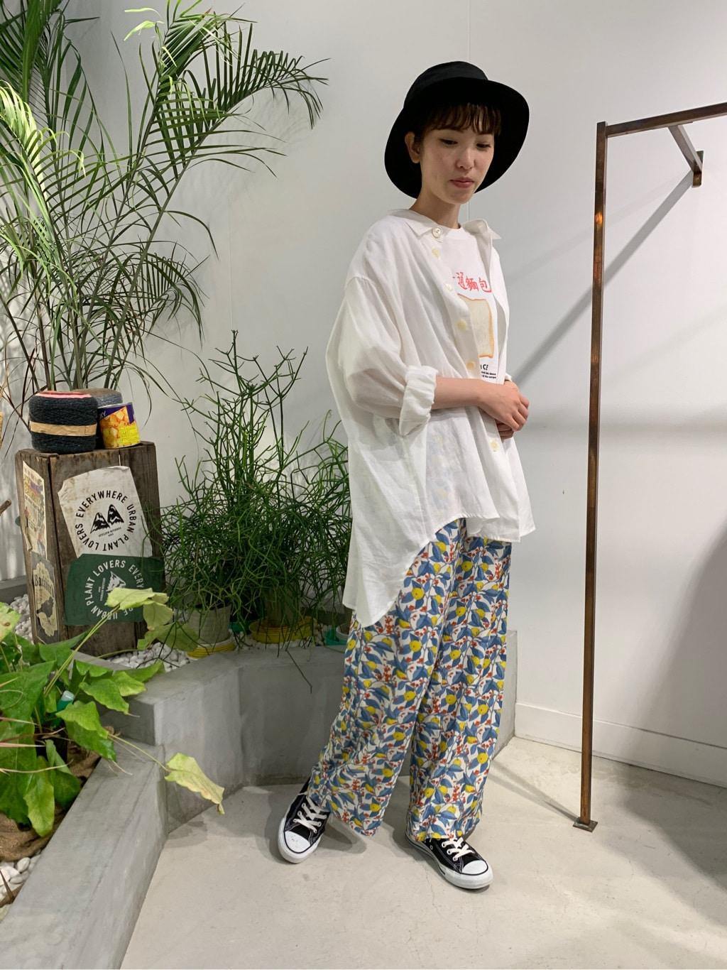 l'atelier du savon 名古屋栄路面 身長:161cm 2020.07.22
