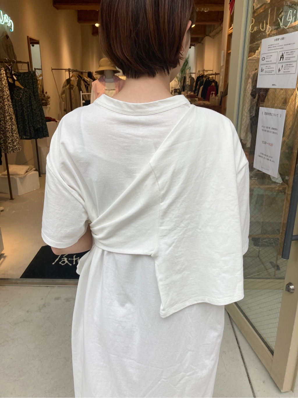l'atelier du savon 名古屋栄路面 身長:161cm 2020.09.12