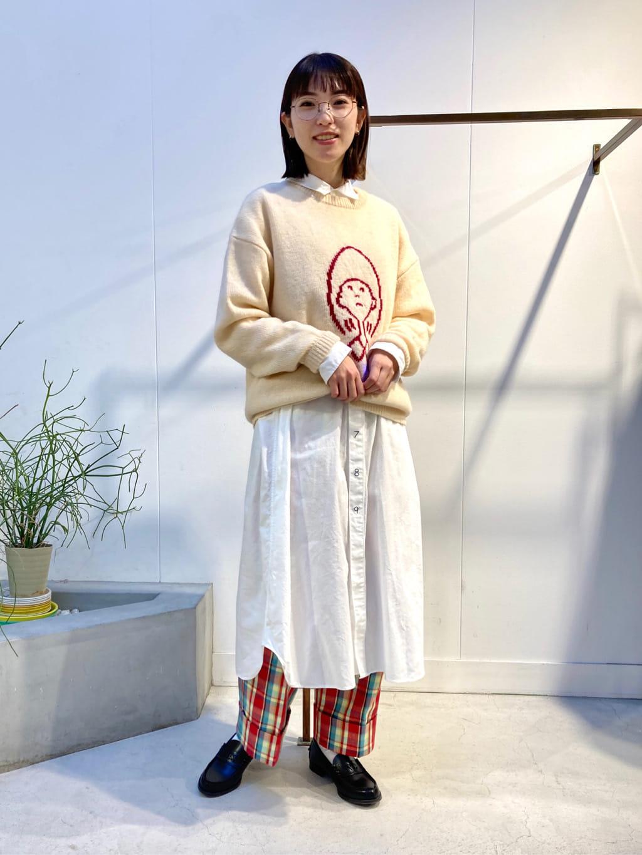 l'atelier du savon 名古屋栄路面 身長:161cm 2021.10.22