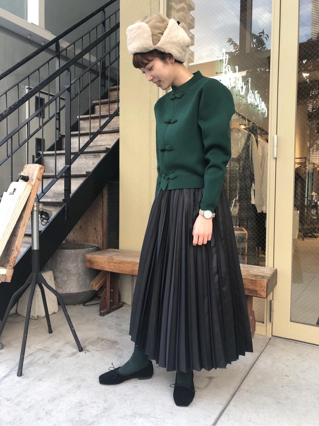 l'atelier du savon 名古屋栄路面 身長:161cm 2019.12.20