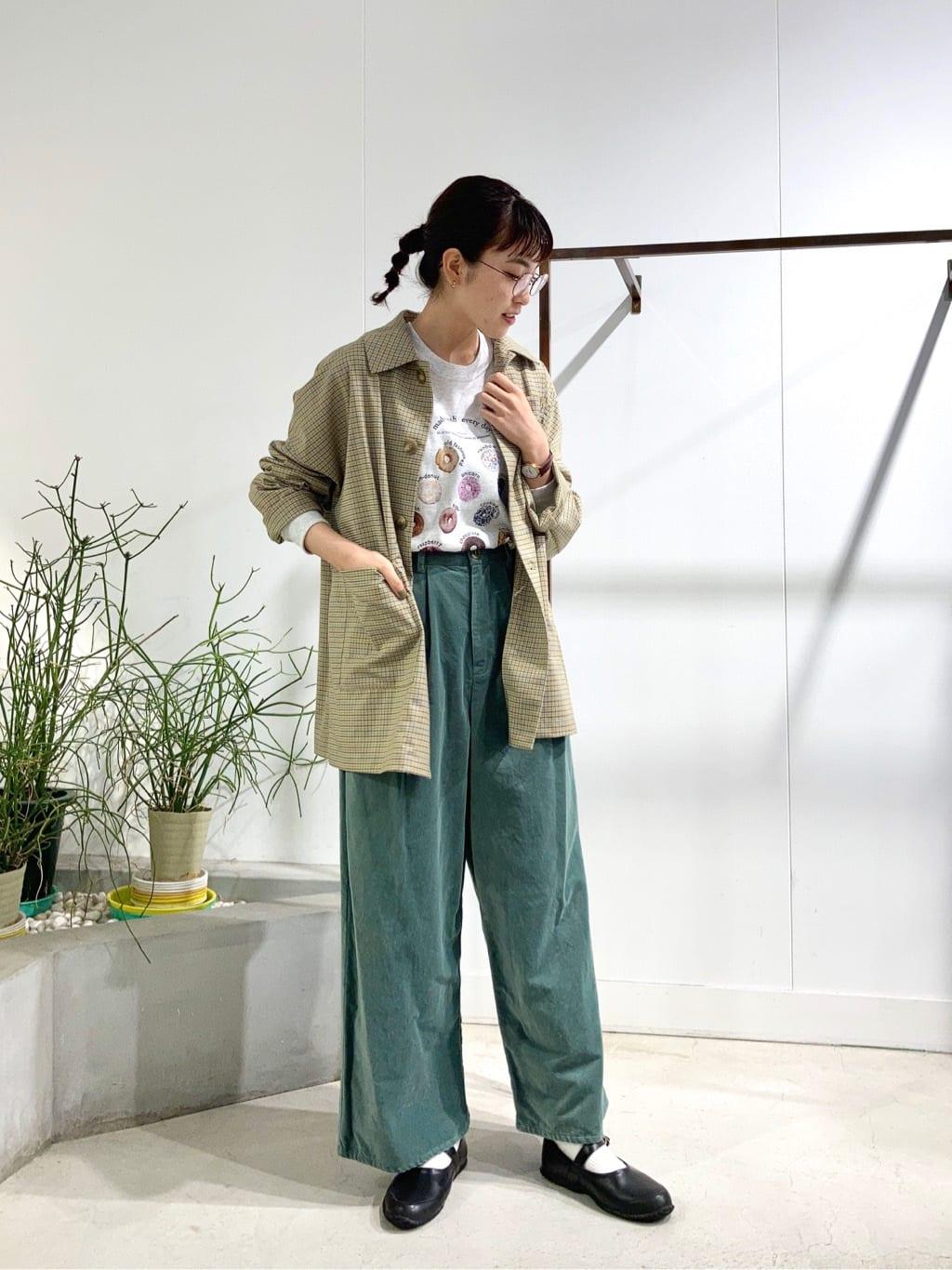 l'atelier du savon 名古屋栄路面 身長:161cm 2021.09.05