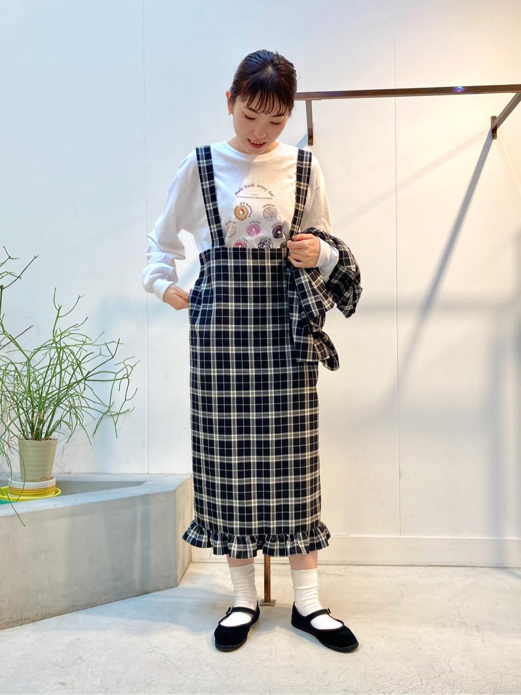 l'atelier du savon 名古屋栄路面 身長:161cm 2021.09.13