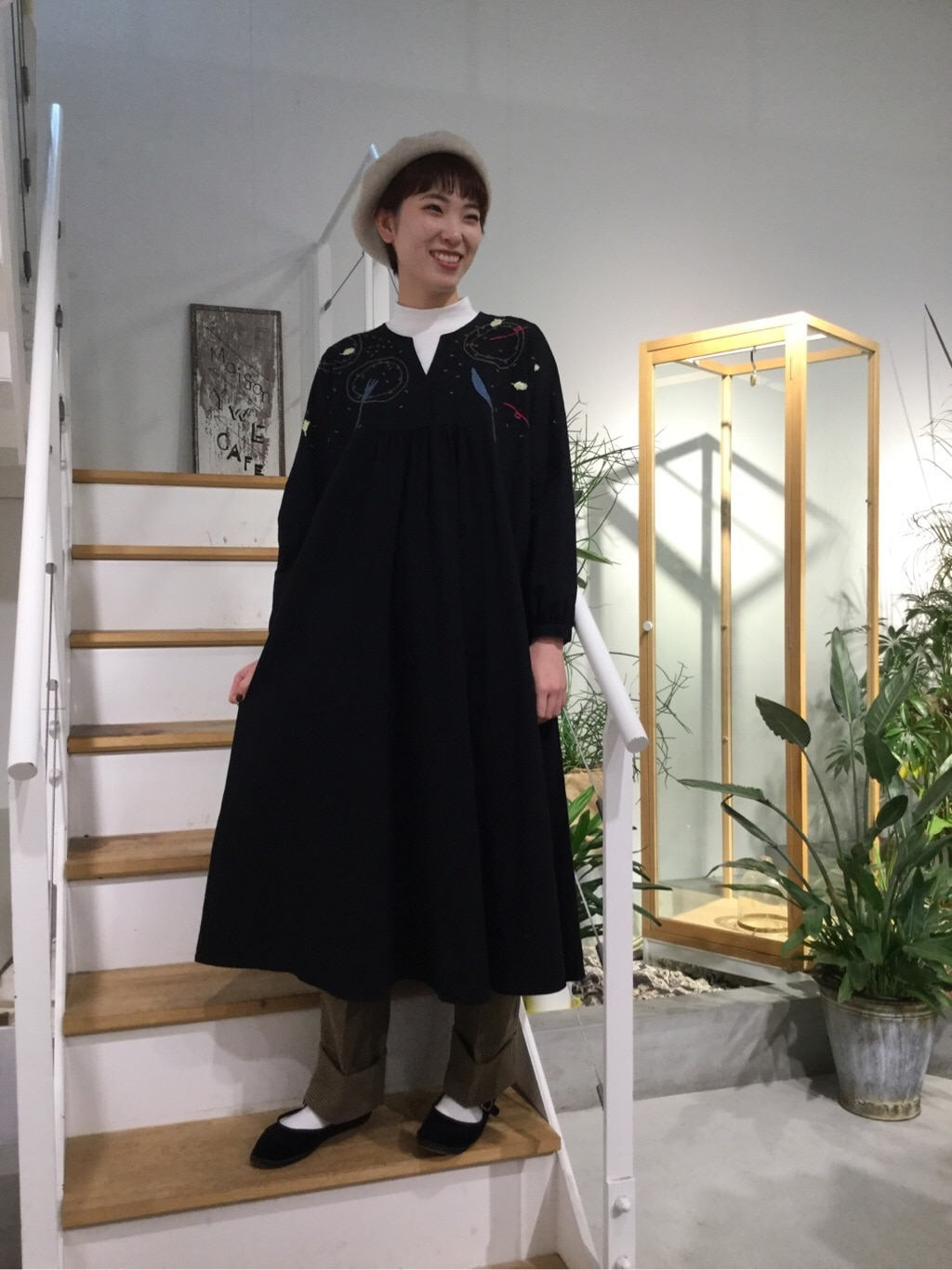 l'atelier du savon 名古屋栄路面 身長:161cm 2019.11.21