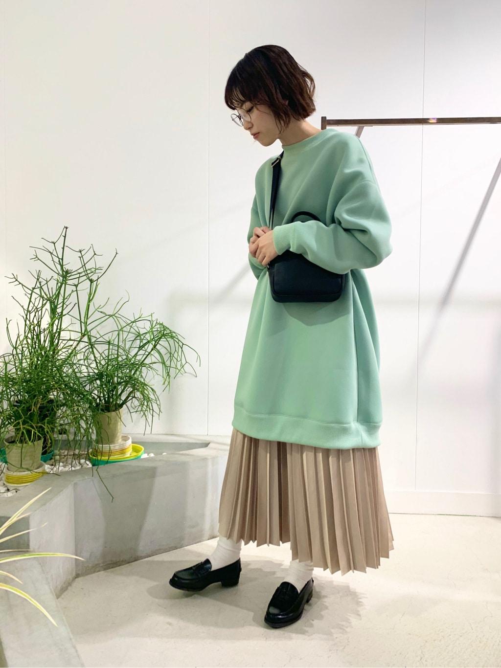l'atelier du savon 名古屋栄路面 身長:161cm 2020.10.24