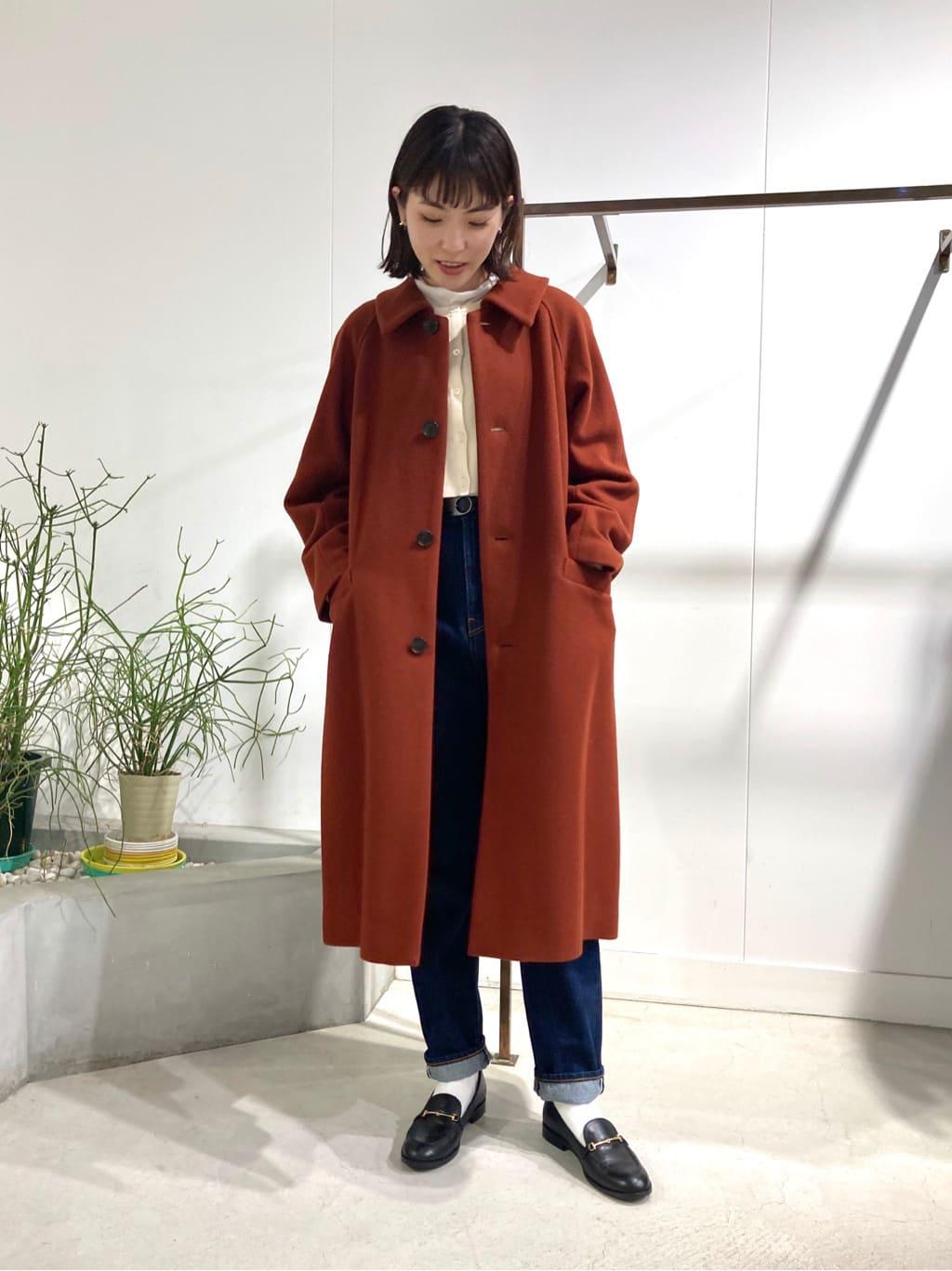l'atelier du savon 名古屋栄路面 身長:161cm 2021.10.16
