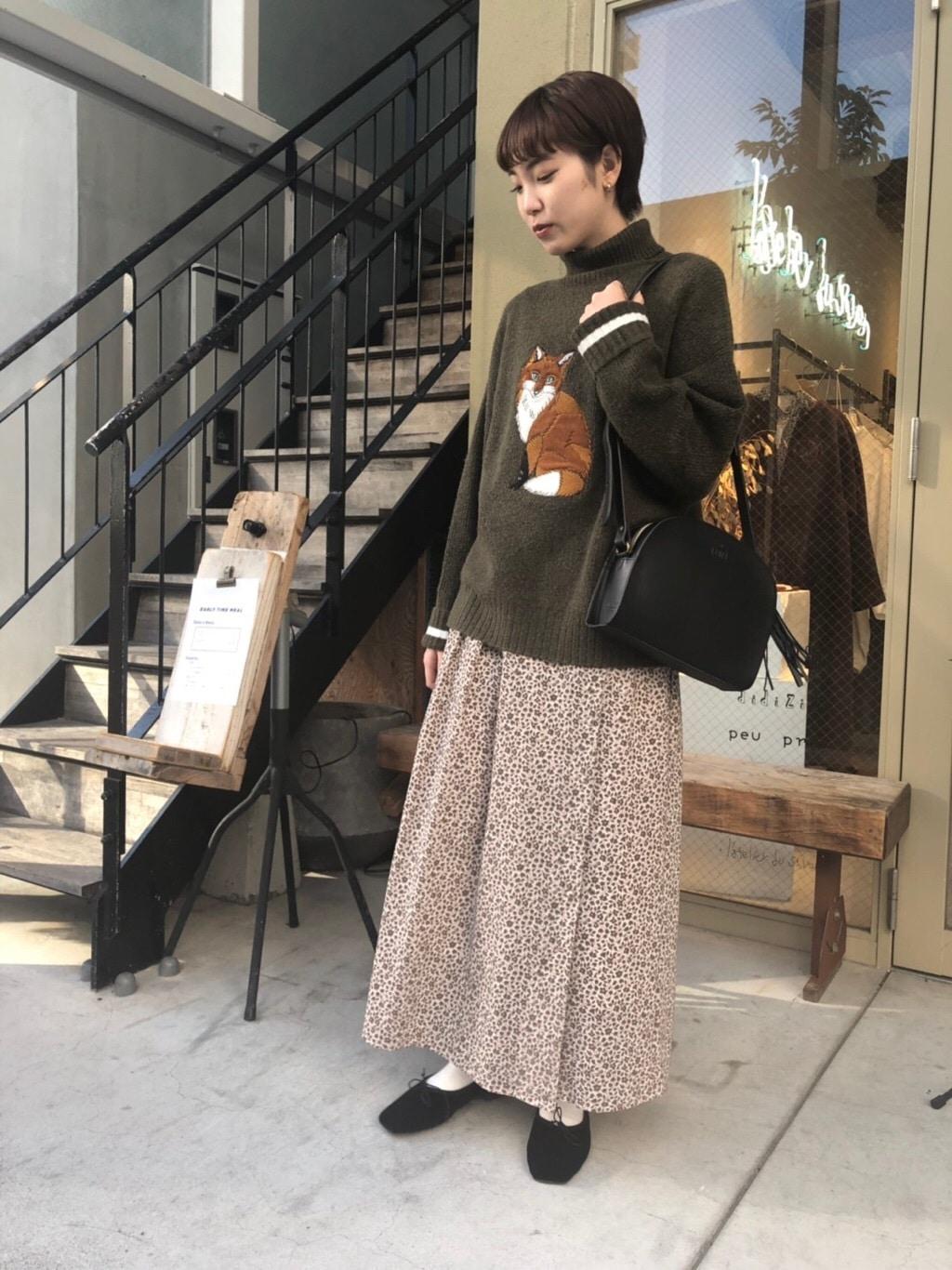 l'atelier du savon 名古屋栄路面 身長:161cm 2019.12.04