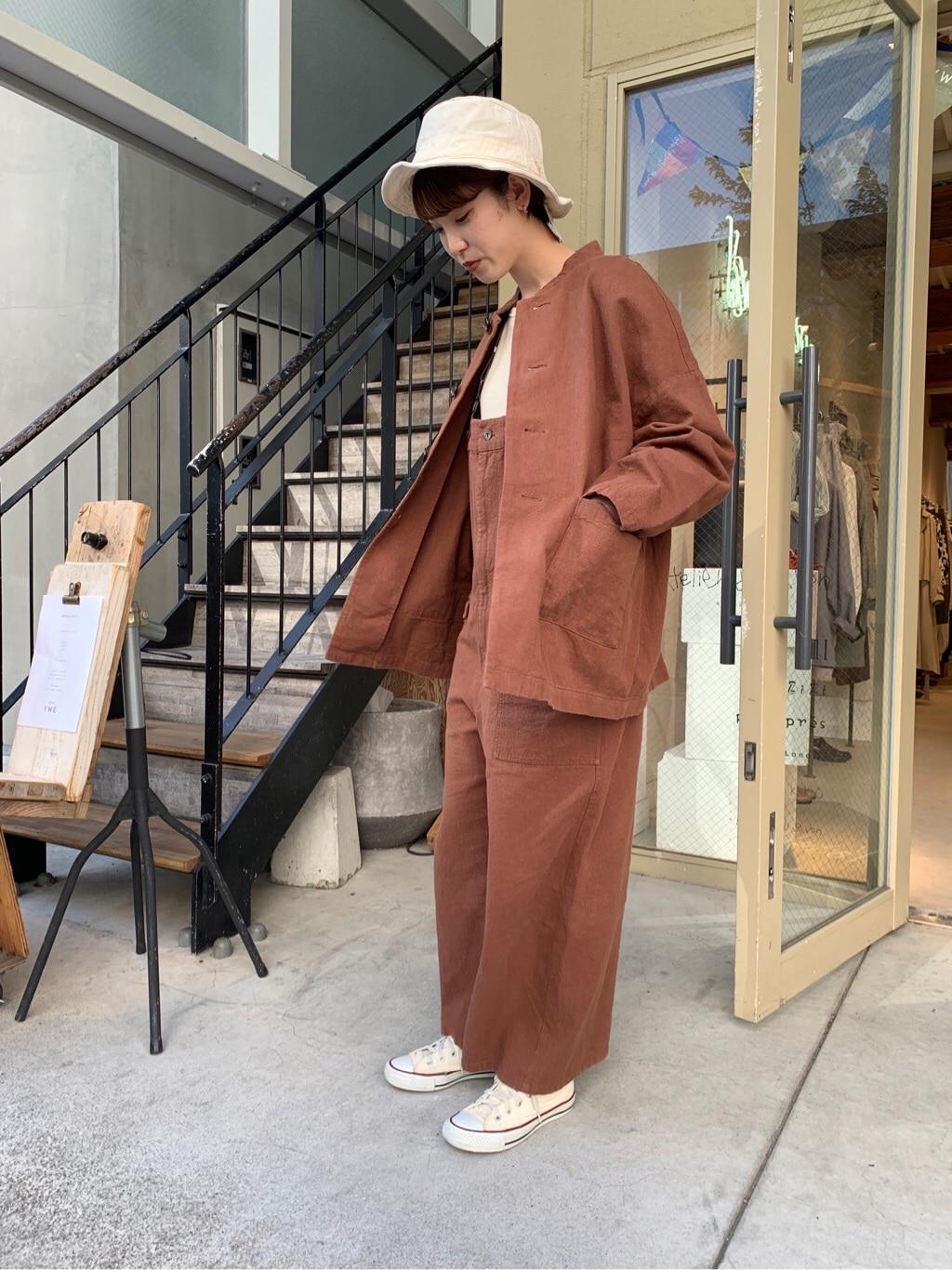 l'atelier du savon 名古屋栄路面 身長:161cm 2020.03.25