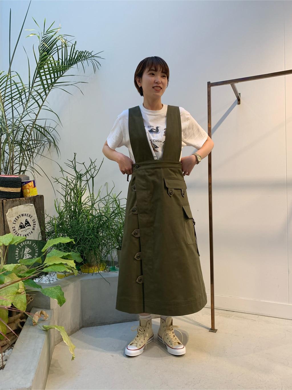 l'atelier du savon 名古屋栄路面 身長:161cm 2020.04.15