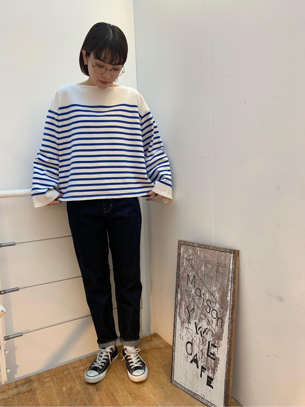 l'atelier du savon 名古屋栄路面 身長:161cm 2020.12.05