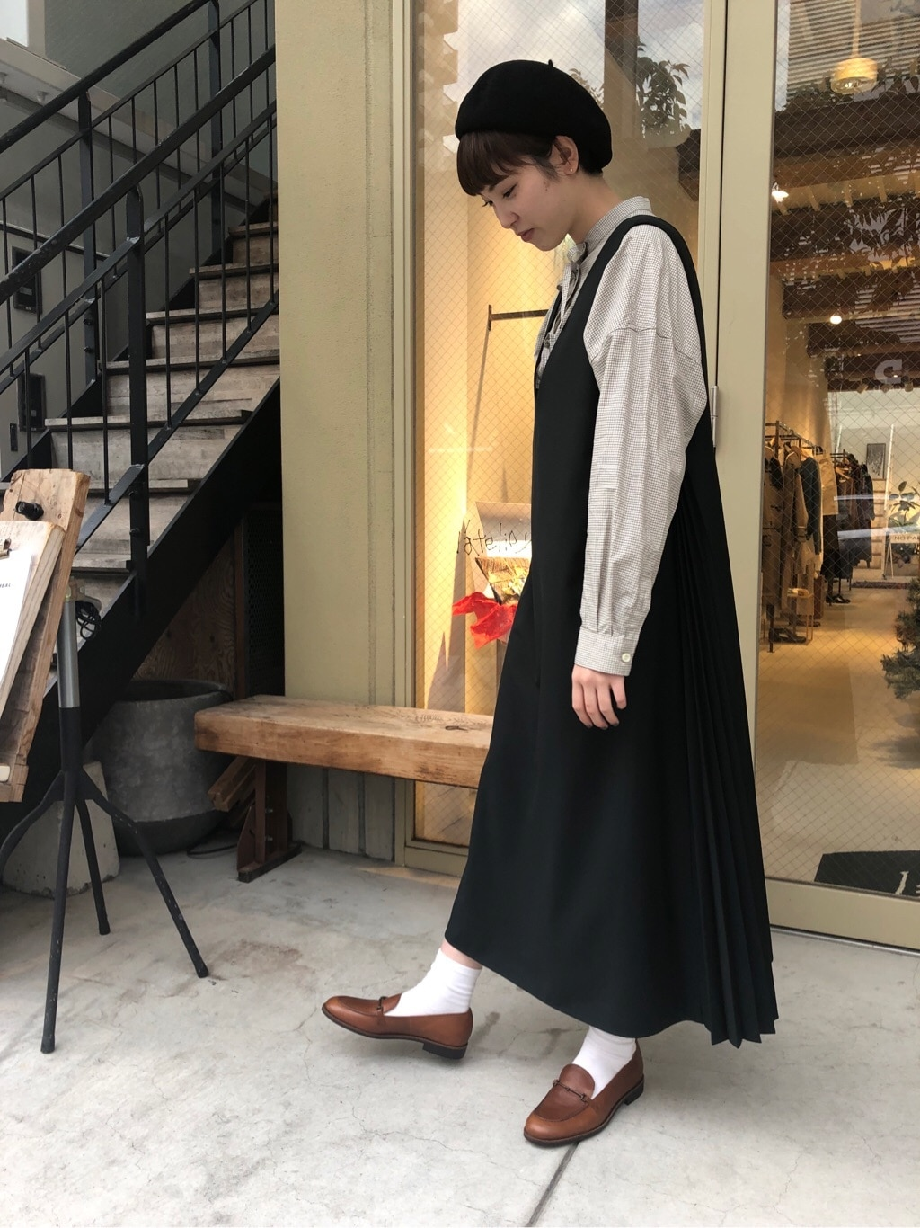 l'atelier du savon 名古屋栄路面 身長:161cm 2019.12.22