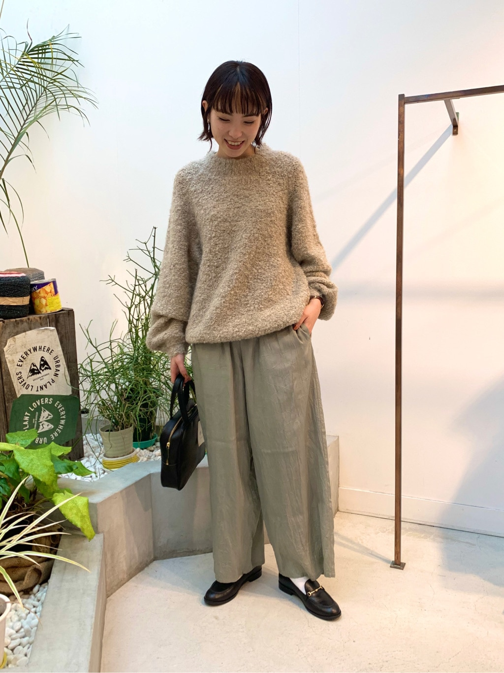 l'atelier du savon 名古屋栄路面 身長:161cm 2020.12.18