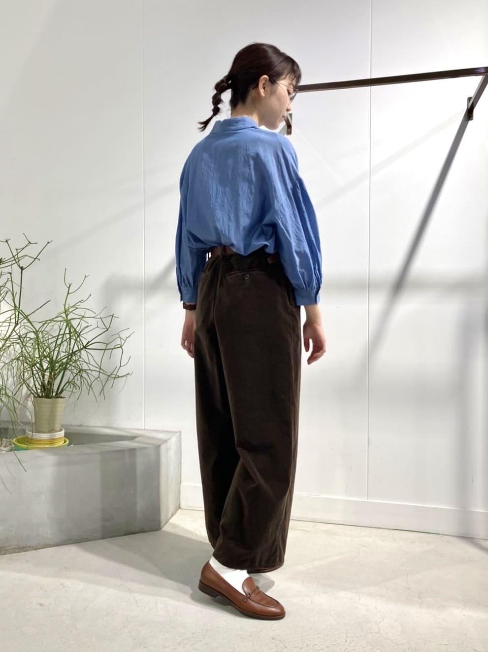 l'atelier du savon 名古屋栄路面 身長:161cm 2021.09.08