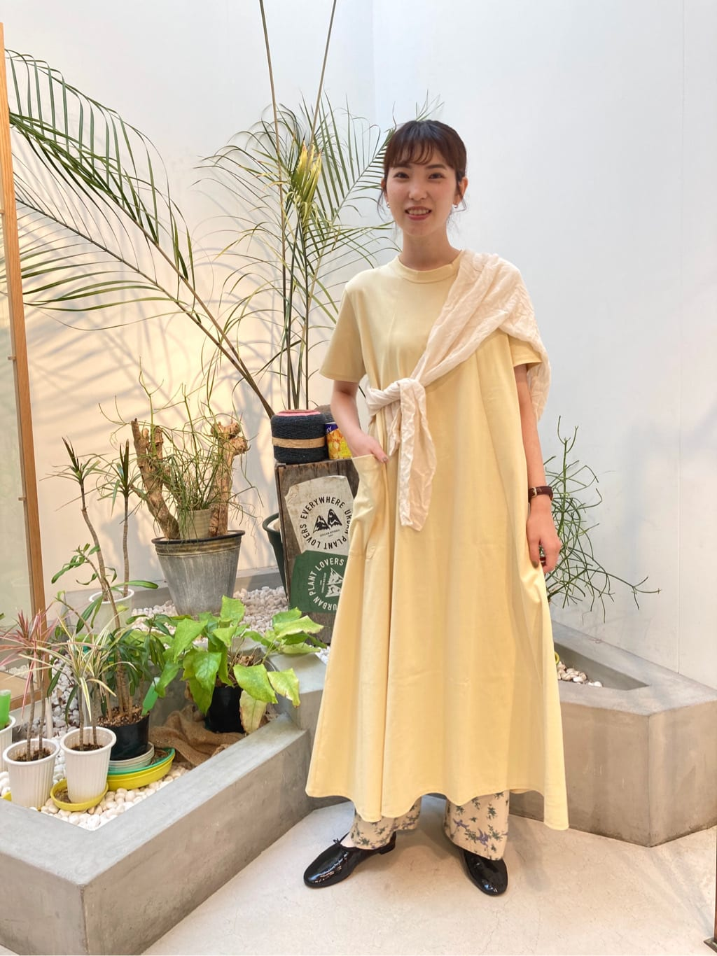 l'atelier du savon 名古屋栄路面 身長:161cm 2021.08.18