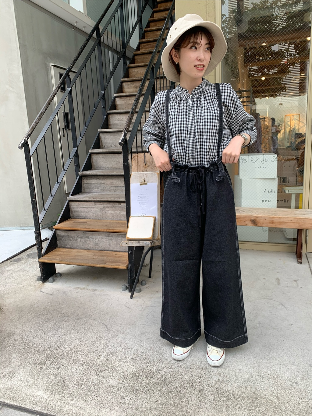 l'atelier du savon 名古屋栄路面 身長:161cm 2020.05.29